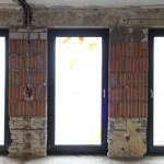LUEER - neue Fensterfront