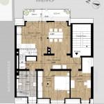 Gartenstr.15 - Grundriss neue Maisonette im DG