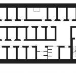 Bunker Kaiserstraße 30 - Bestand Grundriss 2.Obergeschoss